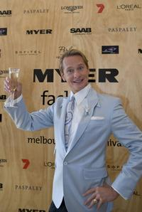 Carson Kressley at the AAMI Victoria Derby Day.