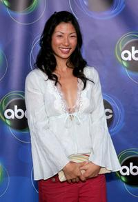 Smith Cho at the ABC TCA party.