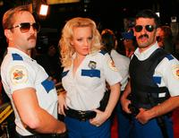 Thomas Lennon, Wendi McLendon-Covey and Robert Ben Garant at the premiere of