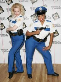 Wendi McLendon-Covey and Niecy Nash at the special screening of