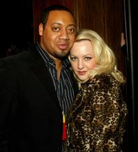 Cedric Yarbrough and Wendi McLendon-Covey at the after party of Comedy Central's