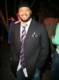 Cedric Yarbrough at the 944 Magazines Dont Tell My Booker party.
