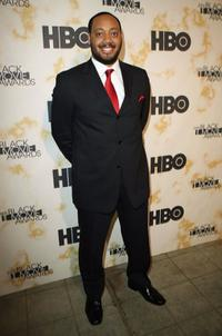 Cedric Yarbrough at the Black Movie Awards HBO after party.