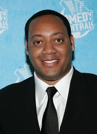 Cedric Yarbrough at the Comedy Central Emmy Party.