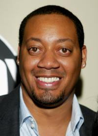 Cedric Yarbrough at the Comedy Centrals Emmy after party.