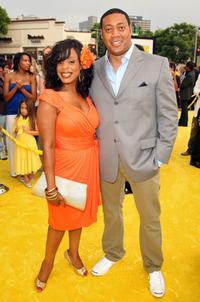 Niecy Nash and Cedric Yarbrough at the Los Angeles premiere of