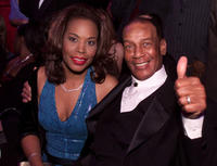 Liz and Ernie Banks at the ninth Annual ESPY Awards in Nevada.