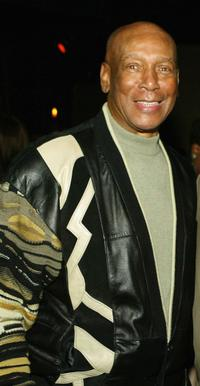 Ernie Banks at the after party of the premiere of