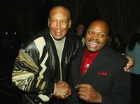 Ernie Banks and Ken Carter at the after party of the premiere of