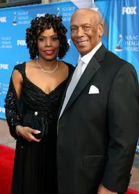 Ernie Banks at the 39th NAACP Image Awards.