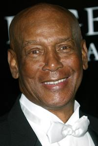 Ernie Banks at the Oprah Winfrey's Legends Ball.