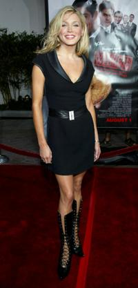 Amanda Swisten at the premiere of