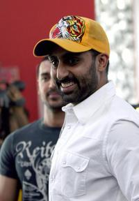 Abhishek Bachchan at the promotion of