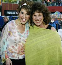 Lainie Kazan and Nia Vardalos at the world premiere of