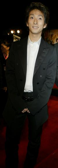 Shichinosuke Nakamura at the premiere of