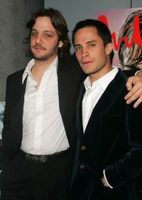Rodrigo de la Serna and Gael Garcia Bernal at the premiere of