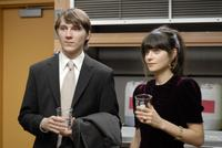 Paul Dano and Zooey Deschanel in