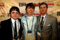 Paul Dano, Dan Byrd and John Fosterat the 2007 CineVegas Film Festival.