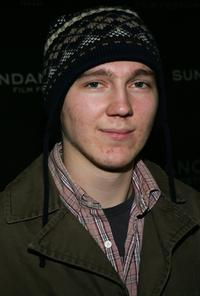 Paul Dano at the premiere of