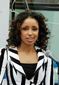 Mya at the North Shore Animal League America's 8th Annual Tour for Life.