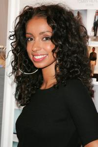 Mya at the Tommy Hilfiger Collection 2008 Fashion Show.