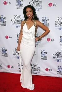 Mya at the VH1 Save The Music Foundation gala.