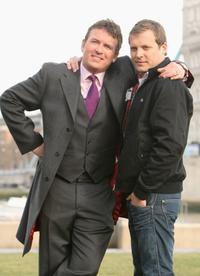Shane Richie and Lex Shrapnel at the photocall of