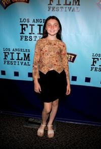 Carlie Westerman at the Los Angeles premiere of
