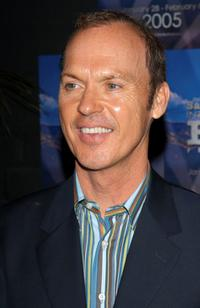 Michael Keaton at the Santa Barbara Film Festival.