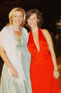 Emma Thompson and Leticia Dolera at the Venice Film Festival.