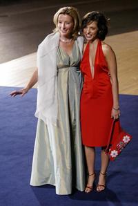 Emma Thompson and Leticia Dolera at the premiere of