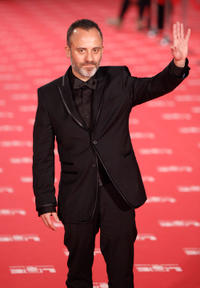 Javier Gutierrez at the 2012 Goya Cinema Awards Ceremony.