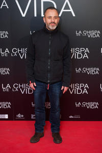 Javier Gutierrez at the Spain premiere of