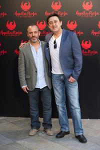 Javier Gutierrez and Mariano Pena at the photocall of