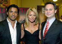 Mark Consuelos, Kelly Rippa and Jason Binn at the celebration of Capitol File Magazine's Pre-Launch and the premiere of