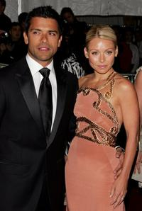 Mark Consuelos and Kelly Ripa at the Metropolitan Museum of Art Costume Institute Benefit Gala