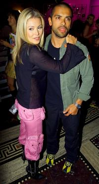 Kelly Ripa and Mark Consuelos at the David Dalrymple Spring/Summer 2004 Collection.