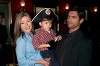 Kelly Ripa, son Michael and Mark Consuelos at the New York premiere of