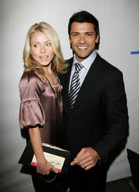 Kelly Ripa and Mark Consuelos at the Opening Night Of