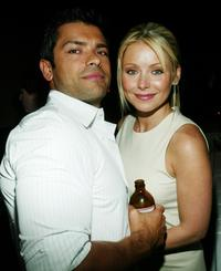 Mark Consuelos and Kelly Ripa at the