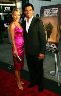 Mark Consuelos and Kelly Ripa at the special screening of