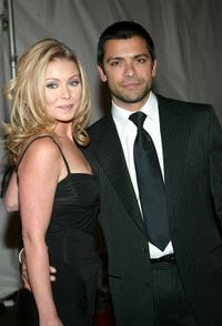 Kelly Ripa and Mark Consuelos at the 2003 Glamour