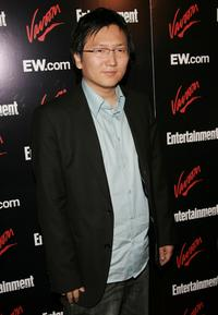 Masi Oka at the Entertainment Weekly and Vavoom's Network Upfront party.