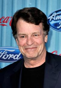 John Noble at the American Idol Top 12 party.