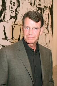 John Noble at the opening reception of Andy Warhol and Helmut Newtons work.