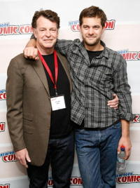 John Noble and Joshua Jackson at the NY Comic-Con 09.