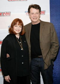 Blair Brown and John Noble at the NY Comic-Con 09.