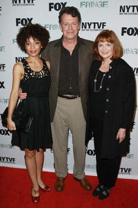 Jasika Nicole, John Noble and Blair Brown at the premiere of