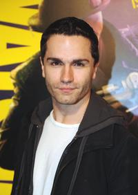 Sam Witwer at the premiere of
