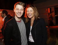 Benjamin McKenzie and Pamela Colburn at the Young Storyteller Foundation's